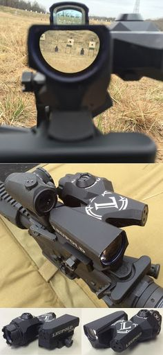 Leupold D-EVO scope - view long range ans short range at the same time.