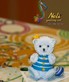 Quilling bear