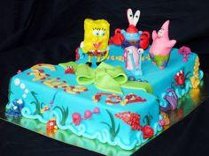 Торт детский Губка Боб