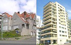 El chalet Espósito, de Matheu y la costa, fue desafectado en 2005 dejando su lugar para un edificio de propiedad horizontal.