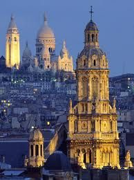 Sacred Heart Basilica- highest point in Paris/ great views from dome