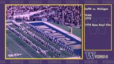 1978 Rosebowl Film of the Husky Marching Band