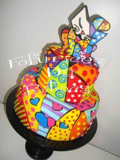 Romero Britto cakepins.com