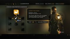 Deus Ex Human Revolution - User Interface on Wacom Gallery