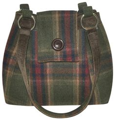 Earth Squared Fair Trade Tweed Bowling Bag in 3 colours