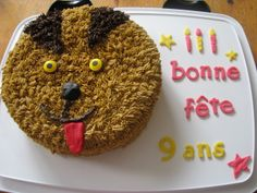 Gâteau chien Creations, Dog, Cake, Party, Desserts, Happy Name Day, Projects, Pie Cake, Cakes
