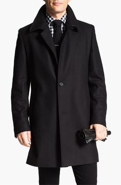 BOSS Black 'The Task' Coat available at #Nordstrom