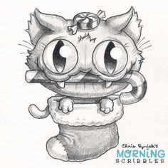 Chris Ryniak - Morning scribbles