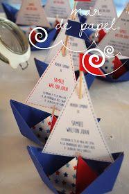 MAR DE PAPEL: La comunión de Samuel: marinera marinerísima!! Fiestas, Paper Envelopes