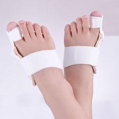 Separador del dedo del pie Cuidado de Los Pies Foot Pads Ortopédicos Hallux Valgus Mejorada Toe Separadores Camillas ajustar dedo gordo del pie para Aliviar El Dolor