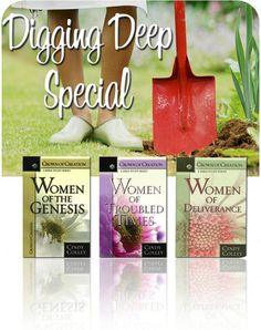 Wonderful study books on the Women of the Bible for Christian women today! I highly recommend these books!