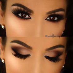 You can find one for the dinner party from the eye makeup designs in this article, as well as the part suitable for daily eye makeup. No matter which one you choose, you will be obsessed after using these eye makeup suggestions. Wedding Makeup For Brown Eyes, Makeup Looks For Brown Eyes, Best Wedding Makeup, Make Up Contouring, How To Apply Eyeshadow, Applying Eyeshadow, Contour Makeup, Beauty Makeup, Brown Eyes Pop