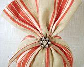 Beautiful French General Fabric Lavender Sachet you can refill (A)