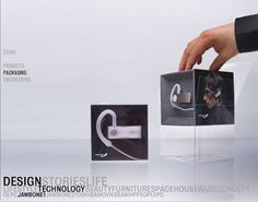 Aliph Jawbone Headset on Packaging of the World - Creative Package Design Gallery