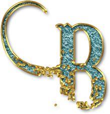 Alfabeto Decorativo: Alfabeto - Brilhante - PNG