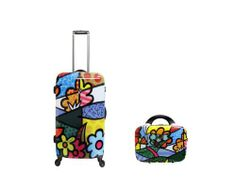 "Heys Britto Landscape Flowers 2 Piece Hardside Spinner Luggage Set (26"" and 12"" Beauty Case), http://www.amazon.com/dp/B00IXW1PW4/ref=cm_sw_r_pi_awdm_u.ontb0H5S65T"