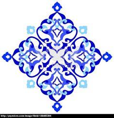 artistic ottoman pattern series ninety seven