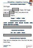 #Wiewoerter – #Adjektive 1.Klasse Grundschule  Arbeitsblätter / Übungen für den #Grammatik-und #Deutschunterricht – Grundschule.  Es handelt sich um verschiedene Übungen zum Vertiefen der Wiewörter / Adjektive, die auf 10 Arbeitsblätter verteilt sind. Die Richtigen werden in die Lücken eingesetzt. Wiewörter / Adjektive müssen nach dem Alphabet geordnet werden. Aus Diktattexte sind die Wiewörter / Adjektive zu erkennen und zu schreiben.  Schriftart: Grundschule Basic