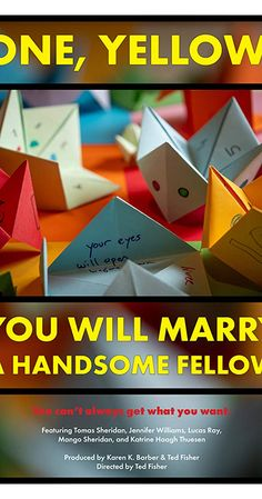 One, Yellow, You Will Marry A Handsome Fellow (2018) - IMDb