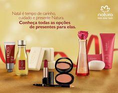 Natal Natura! http://rede.natura.net/espaco/outletchic Compras em até 6X no cartão. Frete grátis acima de R$99,00!