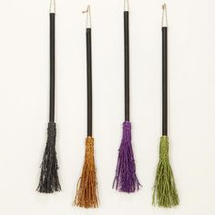 One of my favorite discoveries at WorldMarket.com: Glitter Witch's Broom