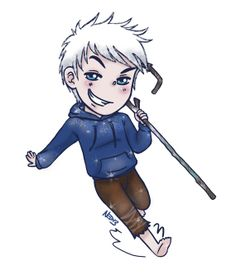 Jack Frost from Rise of the Guardians Magnet