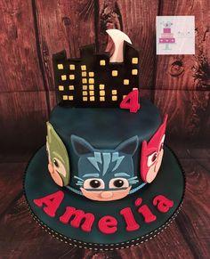 PJ mask - Cake by Littlebirdcakecompany