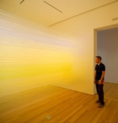 Seeing is forgetting the name of the thing one sees  Installations by Anne Lindberg  Title: Robert Irwin