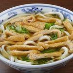有喜屋 - 料理写真:京風きつねうどん 刻みのお揚げさんです