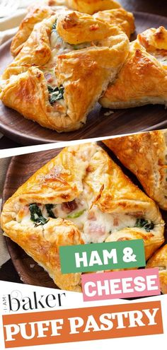 An amazing and simple recipe perfect for breakfast, lunch or dinner! This delicious Ham and Cheese Puff Pastry s a great way to use up leftover ham and it tastes like a gourmet treat! Follow this blog to learn the recipe!