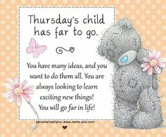 tatty ted thursday's child - Google Search