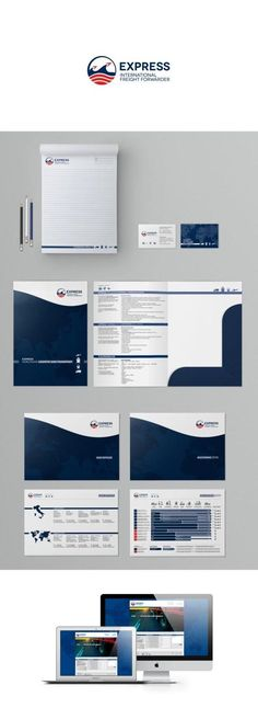 Brand identity for a forwarding agency