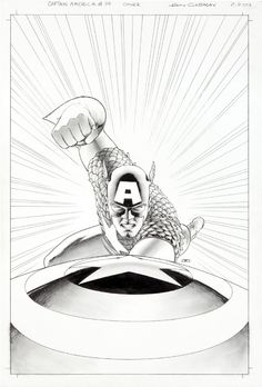 Captain America #14 by John Cassaday *