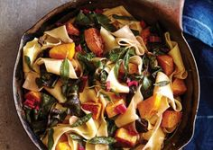 Pappardelle-with-Butternut-Squash-Browned-Butter-and-Chard