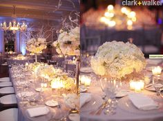 Winter wedding white