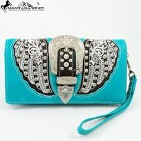 Montana West Embellished Wallet  - Thumbnail 1