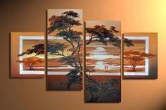 Free shipping Factory sell High quality Wall art Home Decoration100% handmade oil painting wedding /birthday /christams gift (( Kunst in verschillende doeken verdelen maar dat het toch een geheel is. Zou je dit ook kunnen toepassen voor idee waar je bijv verschilleden schermen gebruikt? ))