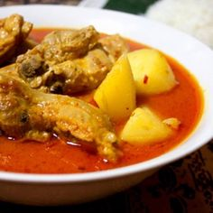 Donnas Chicken curry