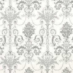 Find sophisticated detail in every Laura Ashley collection - home furnishings, children's room decor, and women, girls & men's fashion. Silver Glitter Wallpaper, Grey And White Wallpaper, Charcoal Wallpaper, Linen Wallpaper, Washable Wallpaper, Feature Wallpaper, Copper Wallpaper, Wallpaper Designs, Bathroom Wallpaper