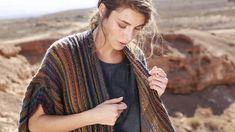 Jetzt wird's kuschelig! Strickdesignerin Tanja Steinbach hat eine neue Schalweste ausgearbeitet, die uns jetzt perfekt in Herbst und Winter begleitet.
