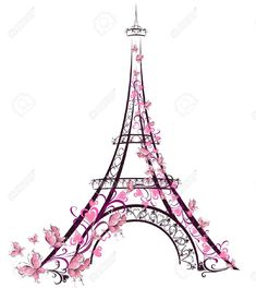 10,139 Eiffel Tower Stock Vector Illustration And Royalty Free ...