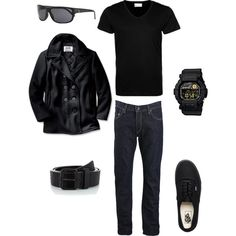"""Adam Jensen (Deus Ex)"" by console-to-closet on Polyvore"