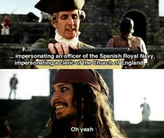 Jack Sparrow confuse face.   mine   Pinterest   Confused ...