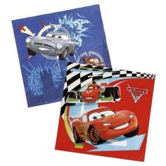 20 Guardanapos Festa Disney Cars