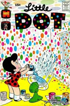 Little Dot 133, I love comic books and comic book covers