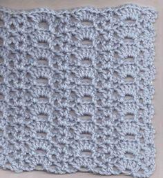Crocus Needle Arts School Article - Crochet Arcs and Vees