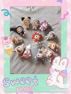 Quick Crochet, Teddy Bear, Toys, Sweet, Amigurumi Patterns, Activity Toys, Candy, Clearance Toys, Teddy Bears