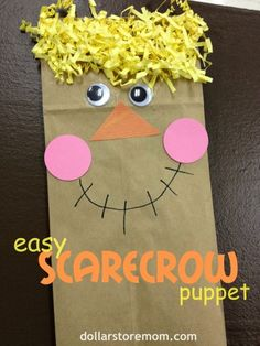 Dollar Store Mom Frugal Fun – Crafts for Kids Fall Preschool Activities, Preschool Projects, Daycare Crafts, Classroom Crafts, Toddler Crafts, Preschool Crafts, Fun Crafts, Halloween Activities, Fall Crafts For Kids