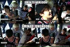 Poor Jimin XD He really loves JungKookie  | allkpop Meme Center