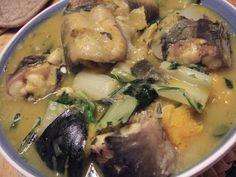 Kusina ni Manang: Ginataang Hito (Catfish in Coconut Milk)